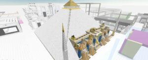 Vesa Kivinen Digital Crypto Art Pyramid Gallery